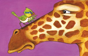 Bird Has an Idea (Don't Laugh at Giraffe)