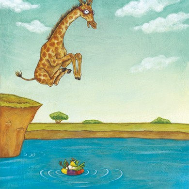 Cannonball! (Don't Laugh at Giraffe)