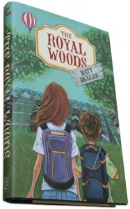 Cover art for The Royal Woods (Key Porter Books)
