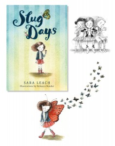 Cover and Spot illustrations (Slug Days)